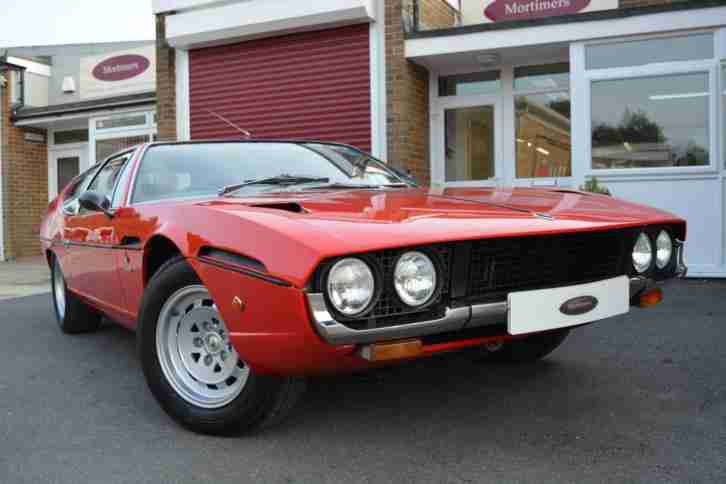 Lamborghini ESPADA. Lamborghini car from United Kingdom