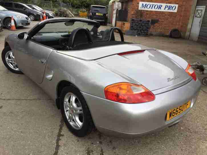 00 W BOXSTER 2.7 FABULOUS EXAMPLE,