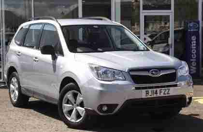 0000 Forester X D Diesel Silver Manual