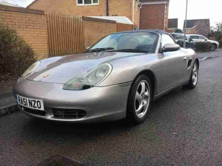 002 (late 51 reg) Boxster 3.2