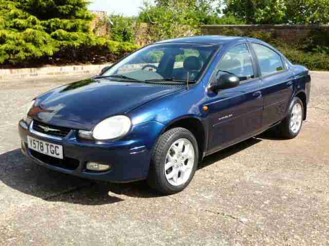 01 Chrysler Neon 2.0 4 Door Automatic