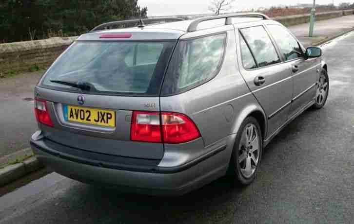 02 SAAB 95 VECTOR ESTATE 2.3 TURBO, 2 OWNERS, GENUINE 102K, SUPERB ENGINE & GEAR