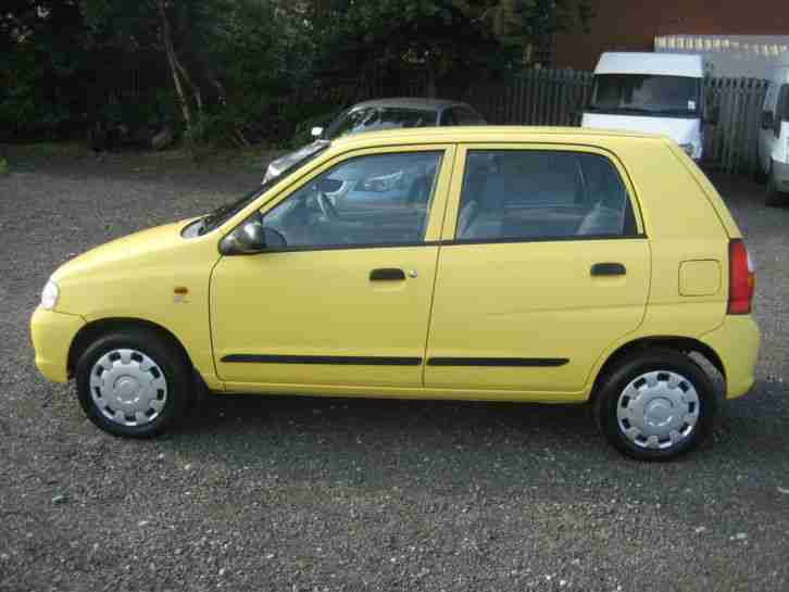 03/53 SUZUKI ALTO GL in YELLOW ** ONLY 25000 miles** NO RESERVE - TO CLEAR