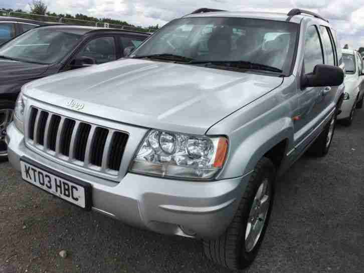 03 JEEP GRAND CHEROKEE 2.7 CRD LIMITED 15 SRVCS, LEATHER, ALLOYS, CLIMATE!!