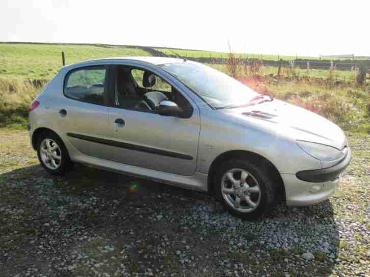 peugeot 03 206 lx hdi 5 door 1 4 turbo diesel great little car px. Black Bedroom Furniture Sets. Home Design Ideas