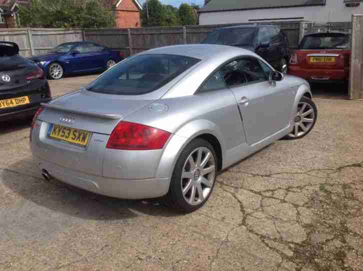 0353 audi tt 180 bhp quattro trade sale to clear only long mot drives. Black Bedroom Furniture Sets. Home Design Ideas