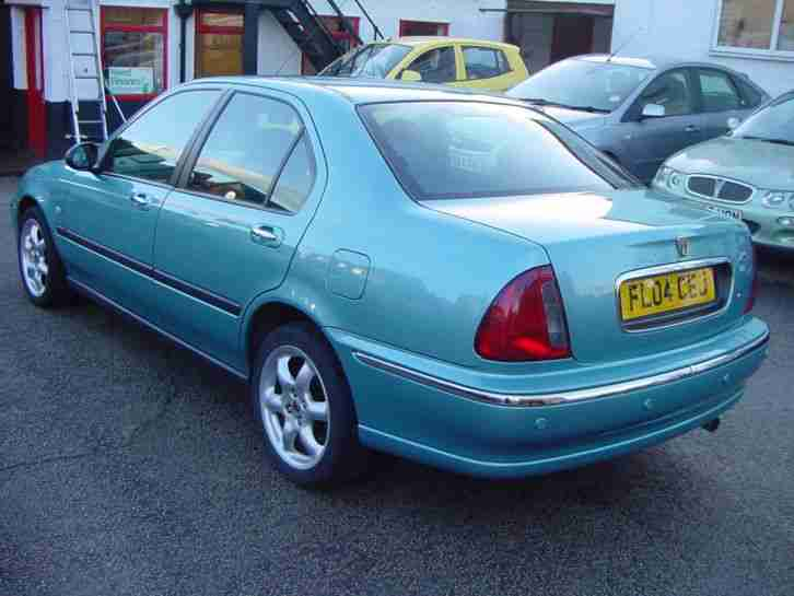 04/04 Rover 45 1.8i Impression S Petrol 5dr Saloon Blue