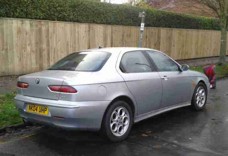 alfa romeo 04 156 jtd 2 4 silver spares or repairs 115k miles great. Black Bedroom Furniture Sets. Home Design Ideas