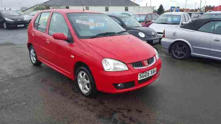 05 Rover CityRover 1.4 Style 5 DOOR RED 43,000 MILES