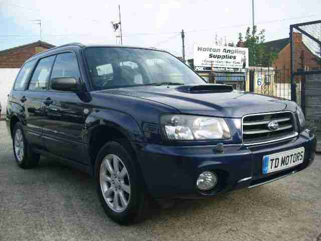 Subaru 05 forester 2 0 turbo xt automatic full leather for Subaru forester paint job cost