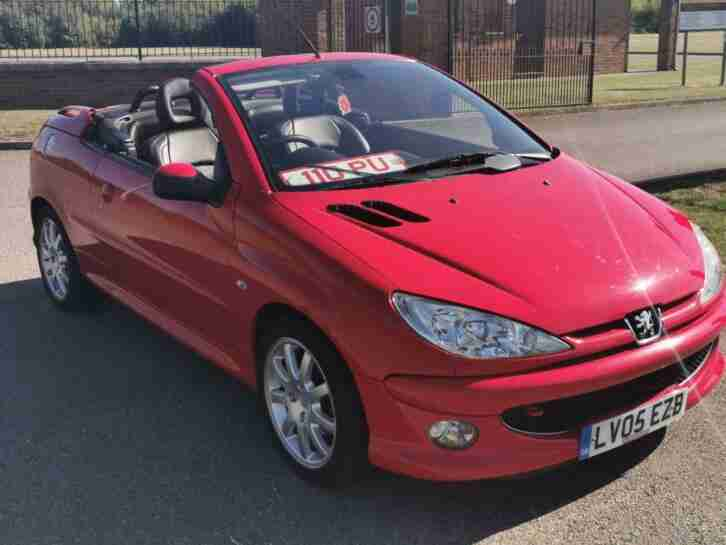 05plate Peugeot 206 1.6 auto Coupe Cabriolet Allure SHOWROOM CONDITION HPI CLEAR