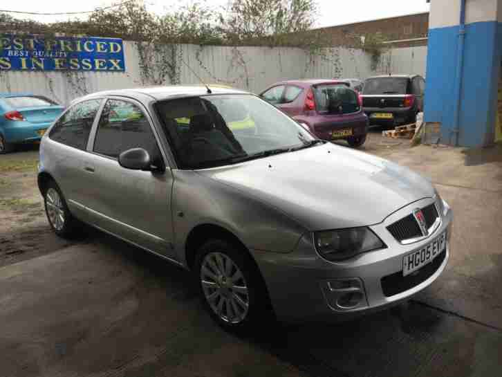 05plate Rover 25. MG car from United Kingdom