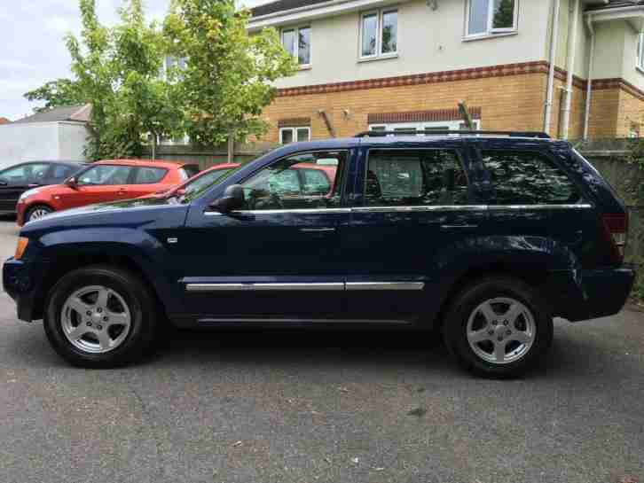 06 Jeep Grand Cherokee 3.0CRD V6 Auto Limited