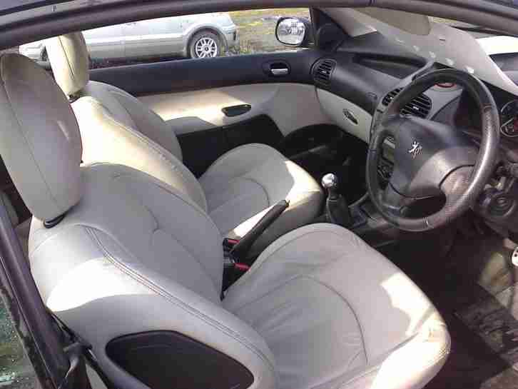 06 Peugeot 206 1.6 16v Coupe Cabriolet Allure (Convertible)
