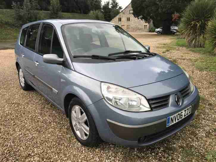 renault 06 grand scenic 1 5 dci diesel 106bhp 6 speed dynamique 7. Black Bedroom Furniture Sets. Home Design Ideas