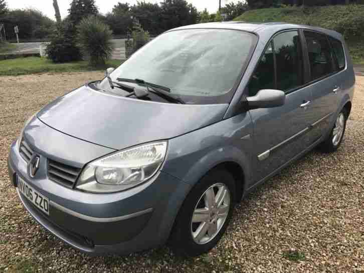 renault 06 grand scenic 1 5 dci diesel 106bhp 6 speed. Black Bedroom Furniture Sets. Home Design Ideas