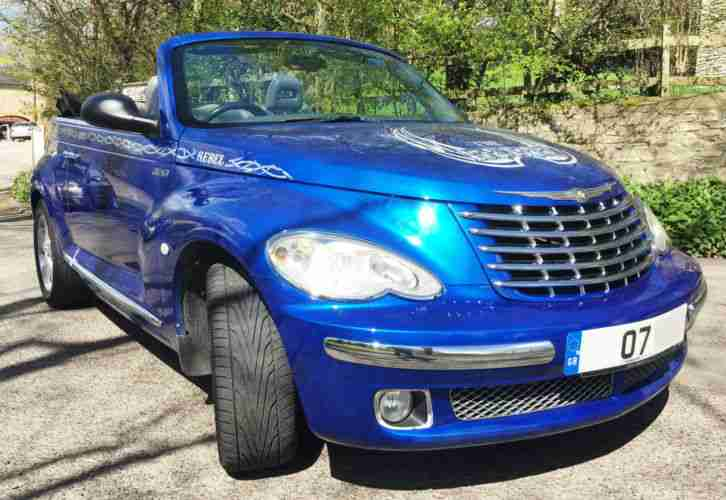 07 PT Cruiser Convertible Automatic