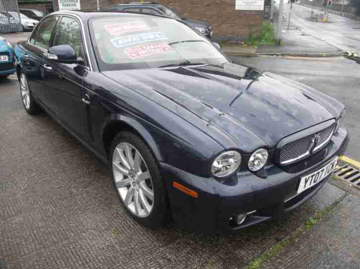 07 JAGUAR XJ SERIES 2.7TD AUTO EXECUTIVE,METALLIC BLUE,LOW MILEAGE,FULL HISTORY