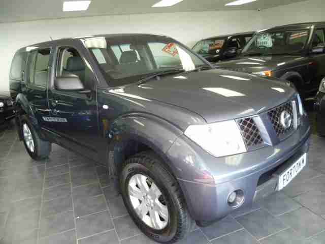 07 NISSAN PATHFINDER 2.5 4X4 DIESEL~ 80,000 MILES MANY MORE 4X4'S IN STOCK