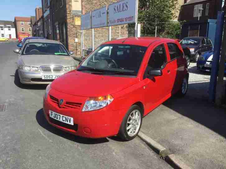 07 Proton Savvy 1.2 Street 65k MOT 1 YEAR 5Dr In Playful RED £795 p ex's Cards
