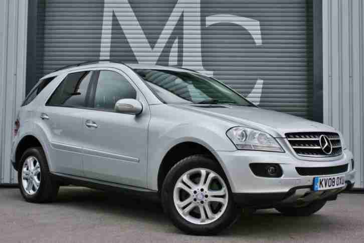 08 Plate Mercedes Benz ML280 3.0TD CDI Auto SE Sat Nav10Services Great Condition