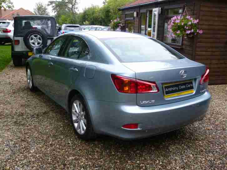 09/09 Lexus IS 220d 2.2TD SE-I MANUAL 6 SPEED 23000 MILES FULL HISTORY 1 OWNER