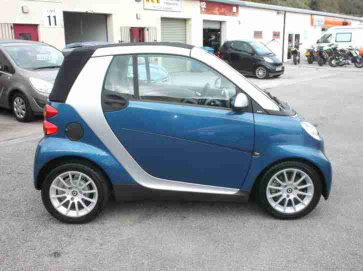 smart 09 09 fortwo 1 0 passion convertible car for sale. Black Bedroom Furniture Sets. Home Design Ideas