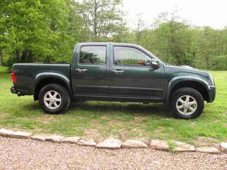 Isuzu Rodeo Denver D C Pick Up Truck, 191k miles, NO VAT, New MOT, tow bar