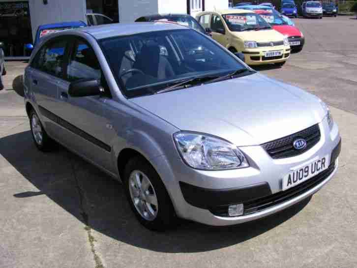 09 Kia Rio 1.5CRDi Chill 5 DOOR , £30 ROAD TAX PER YEAR