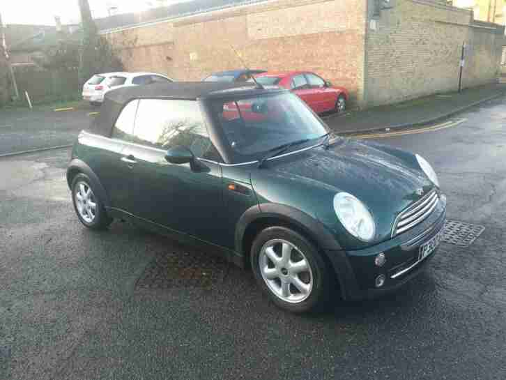 1.6 ONE CONVERTIBLE 2008 PETROL MANUAL