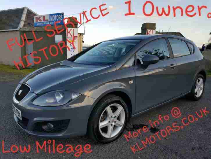 1 OWNER SEAT LEON 1.6 S FULL SERVICE HISTORY