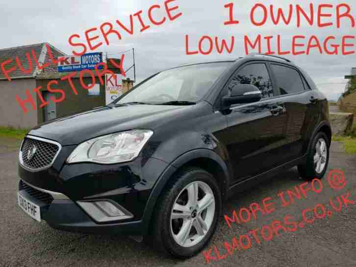 1 OWNER SsangYong Korando 2.0 TD LE LOW