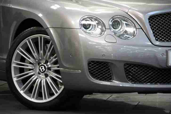 10 10 BENTLEY CONTINENTAL FLYING SPUR SPEED 6.0 W12 AUTO SALOON PETROL