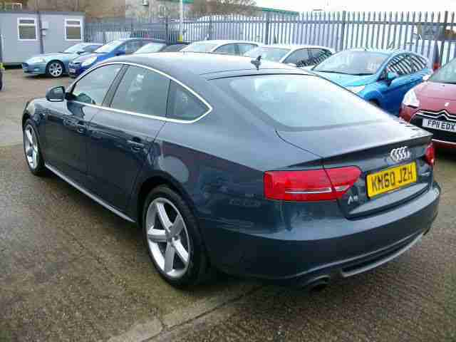 10/60 Audi A5 2.0TFSI ( 180ps ) S Line Sportback 5Dr / Great Specification ! ! !