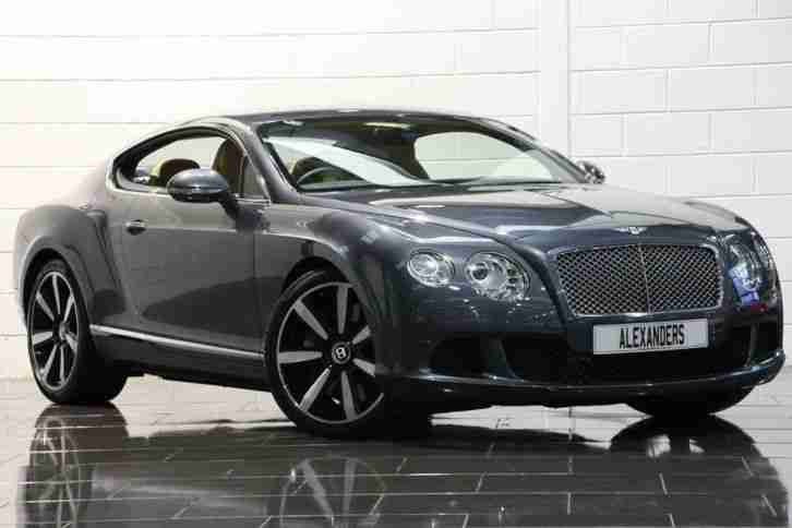 bentley 10 60 continental gt 6 0 w12 auto grey coupe car for sale. Black Bedroom Furniture Sets. Home Design Ideas