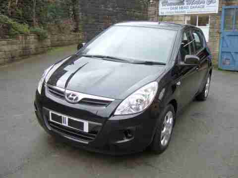 11 REG 2011 HYUNDAI I20 COMFORT DAMAGED REPAIRABLE SALVAGE