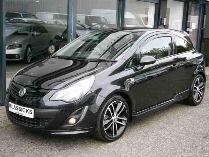 14 14 vauxhall corsa turbo 16v black edition car for sale. Black Bedroom Furniture Sets. Home Design Ideas