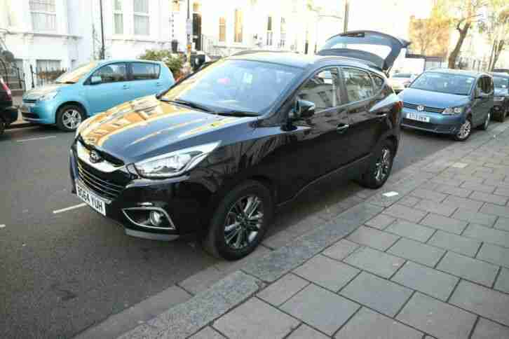 Hyundai Ix35. Hyundai car from United Kingdom