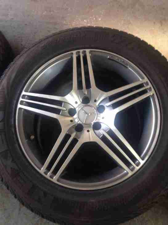 18 inch amg alloy wheels tyres ml vito winter tyres car for Mercedes benz rims for sale