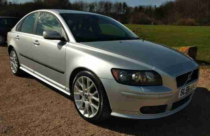 Volvo S40 2.0D. Volvo car from United Kingdom