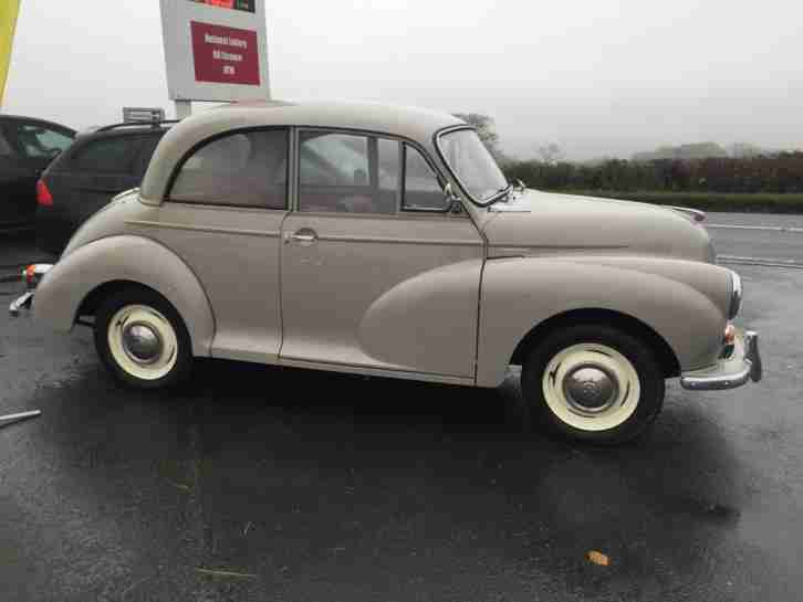 1967 MORRIS MINOR CLASSIC CAR ( GCE 262R ) # TAX EXEMPT # VERY LOW MILEAGE #