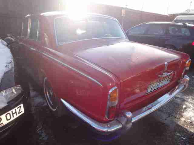 1968 ROLL ROYCE Silver Shadow 6.8 NO RESERVE / BEST BID WINS