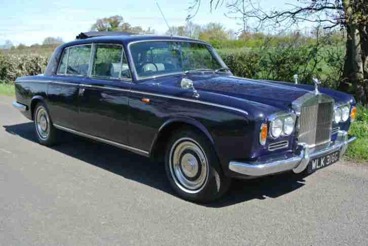 1969 ROLLS ROYCE SILVER SHADOW Chippendale with Sun roof