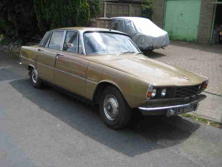 Rover 1970 P6 2000 SC GOLD LONG MOT RUNNING RESTORATION PROJECT. car ...