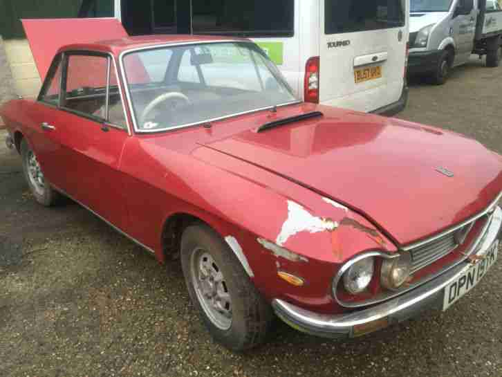 1972 FULVIA 1300 COUPE BARN FIND