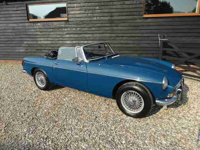 1973 MG B roadster with overdrive ,