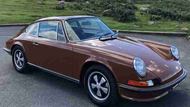 1973 Porsche 911 2.4 E LHD, Bare Shell Restoration just Completed