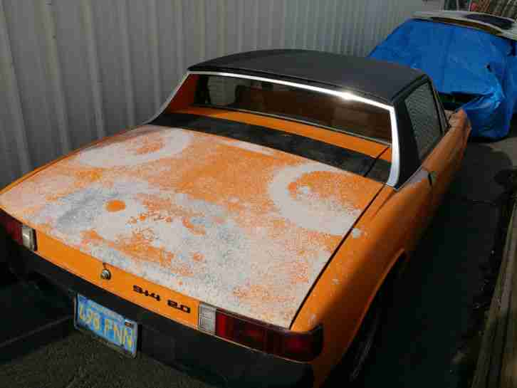 1974 PORSCHE 914 2.0 SPORTS CAR EASY PROJECT