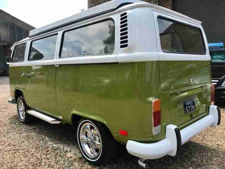 1975 VOLKSWAGEN TRANSPORTER 1.6 CARAVAN 1D 50 BHP LOOKS AND DRIVES SUPERB NEW PO