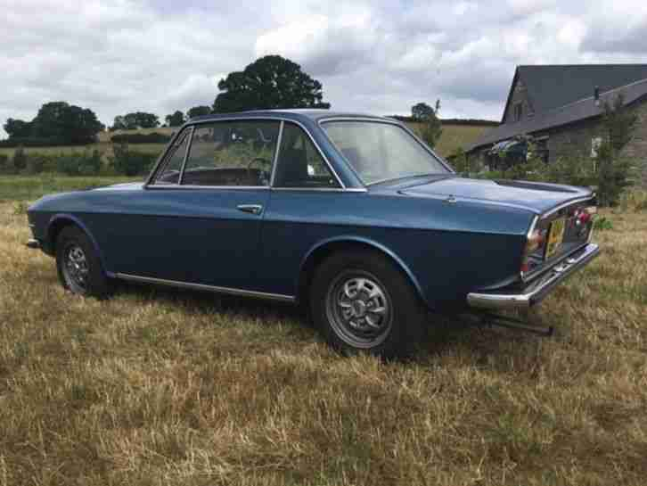 1976 Lancia Fulvia 3. Original UK RHD
